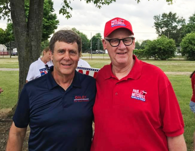 Congressman Mitchell Endorses Daley